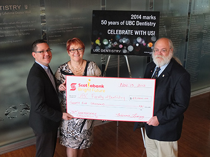 Scotiabank Joins Dentistry's 50th Anniversary Celebrations